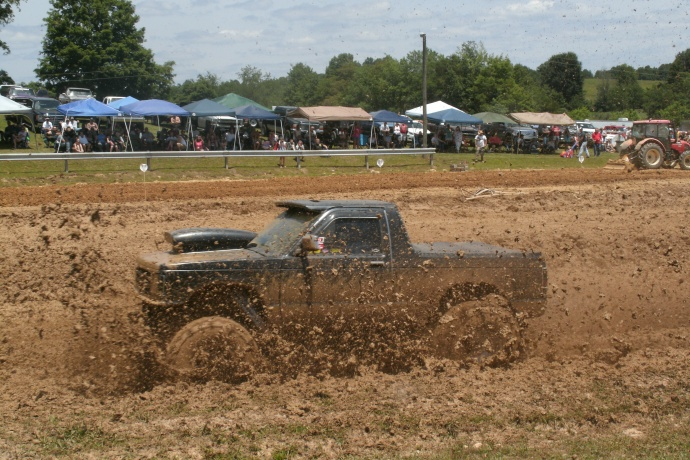 WV mud bog truck