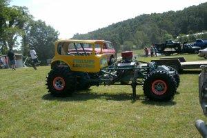 nitro injected race truck