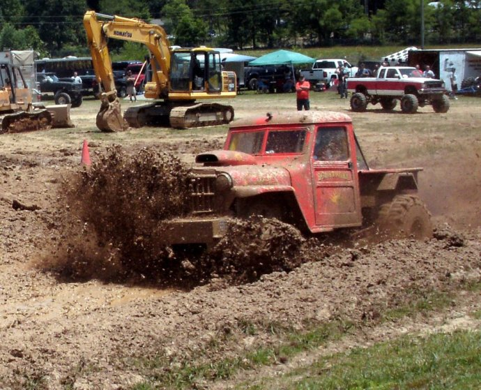 SunStroke plowing through the mud