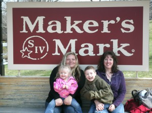 Jolynn Jamie and Christopher and Paige at Maker's Mark
