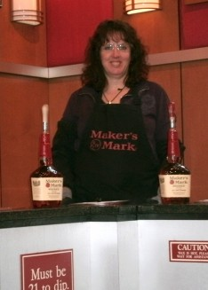 Me with my two bottles of Makers Mark... waited a long time to these