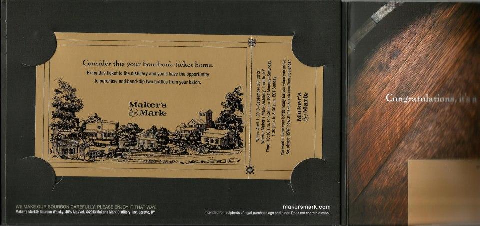 7 long years I waited for this bottle of Maker's Mark Bourbon (2/6)