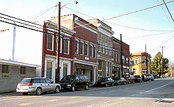 main street Jane Lew, Wv