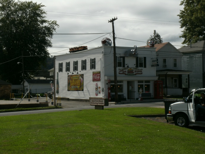 Front view of the Big Dipper icecream parlor