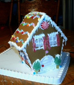 small ginger bread house