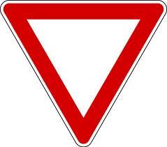 yeild sign
