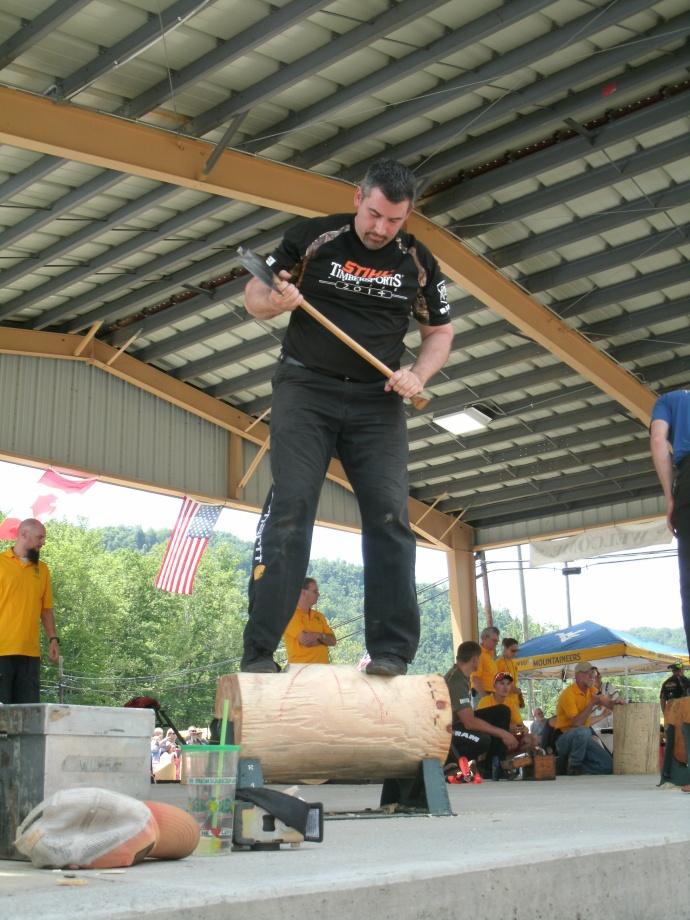 Standing Log Chop 2014