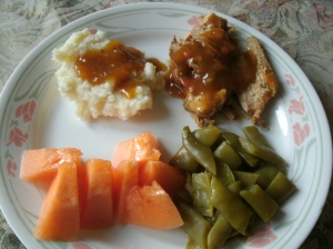 simple southern wild turkey dinner