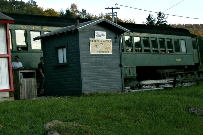 restrooms and depot at cheat mountain