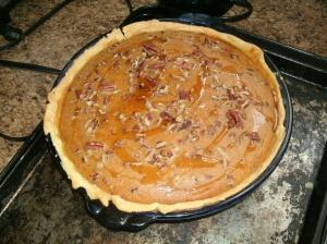 Maple Pecan Sweet Potato Pie.