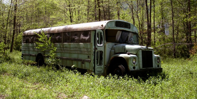 Hunting Bus  Hacker Valley, West Virgina