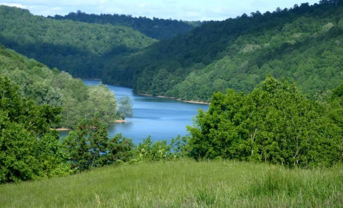 Stonecoal Lake, Lewis County West Virginia