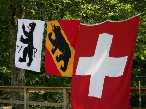 swiss helvietia flagg