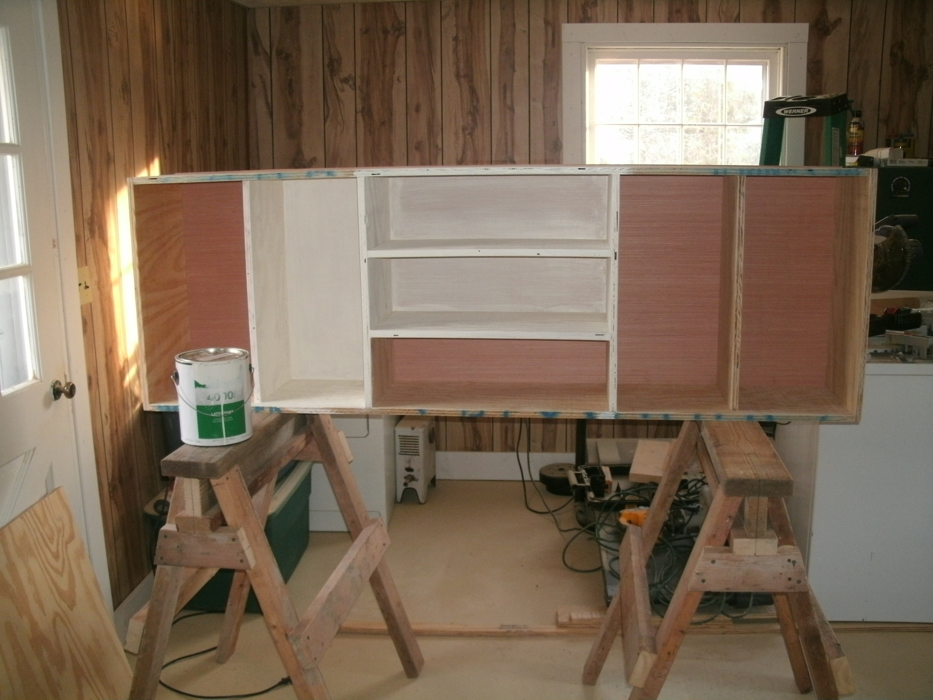 Recycled Lumber Into A Hunters Reloading Bench West