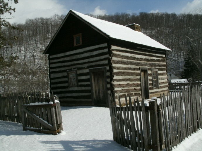 Mary Conrad Cabin Jackson's Mill, Jane Lew West Virginia 2013