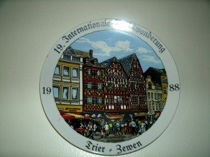 Tier Germany Volks Marching plates