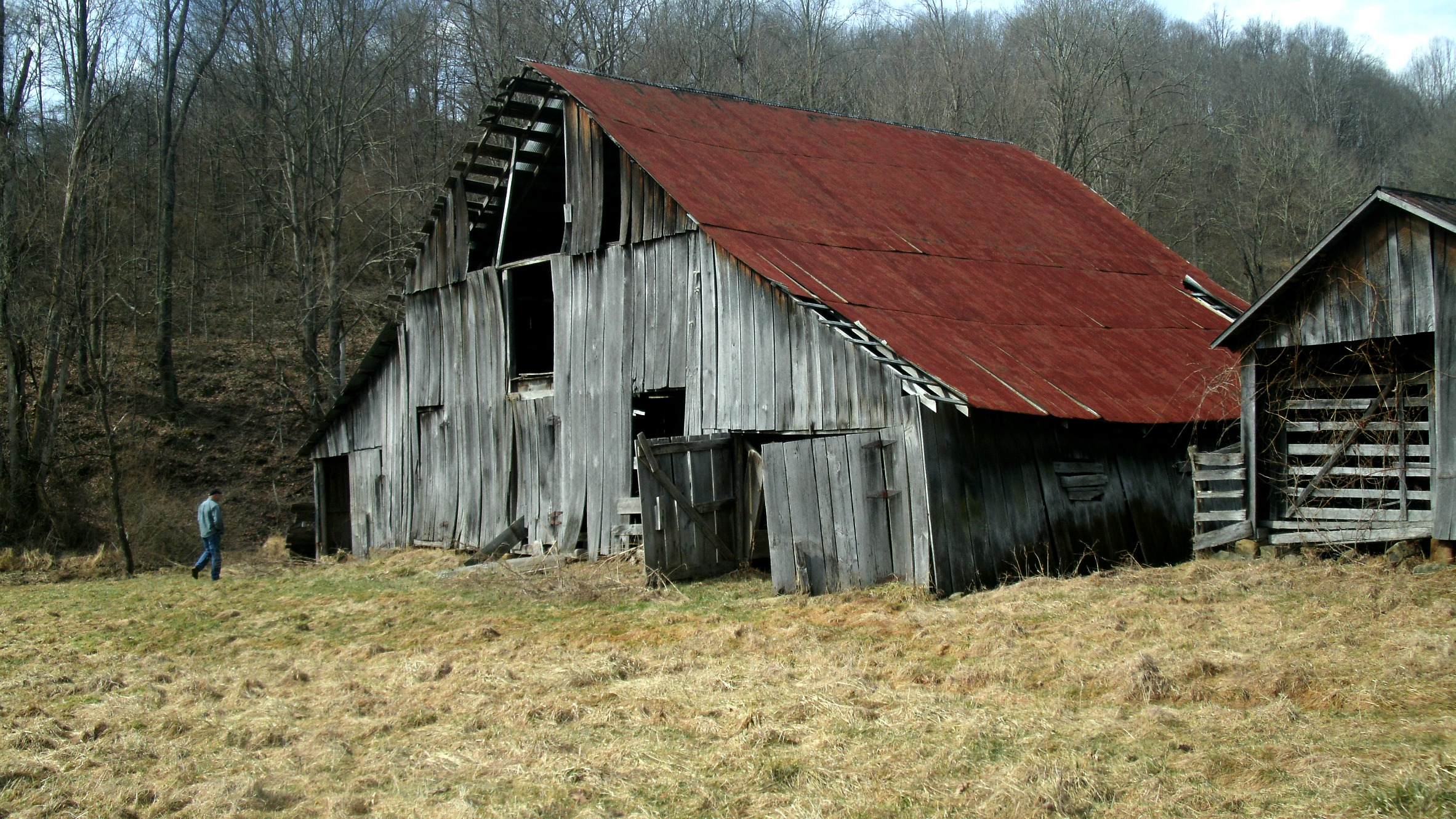 Recycling west virginia mountain mama for Barn home builders