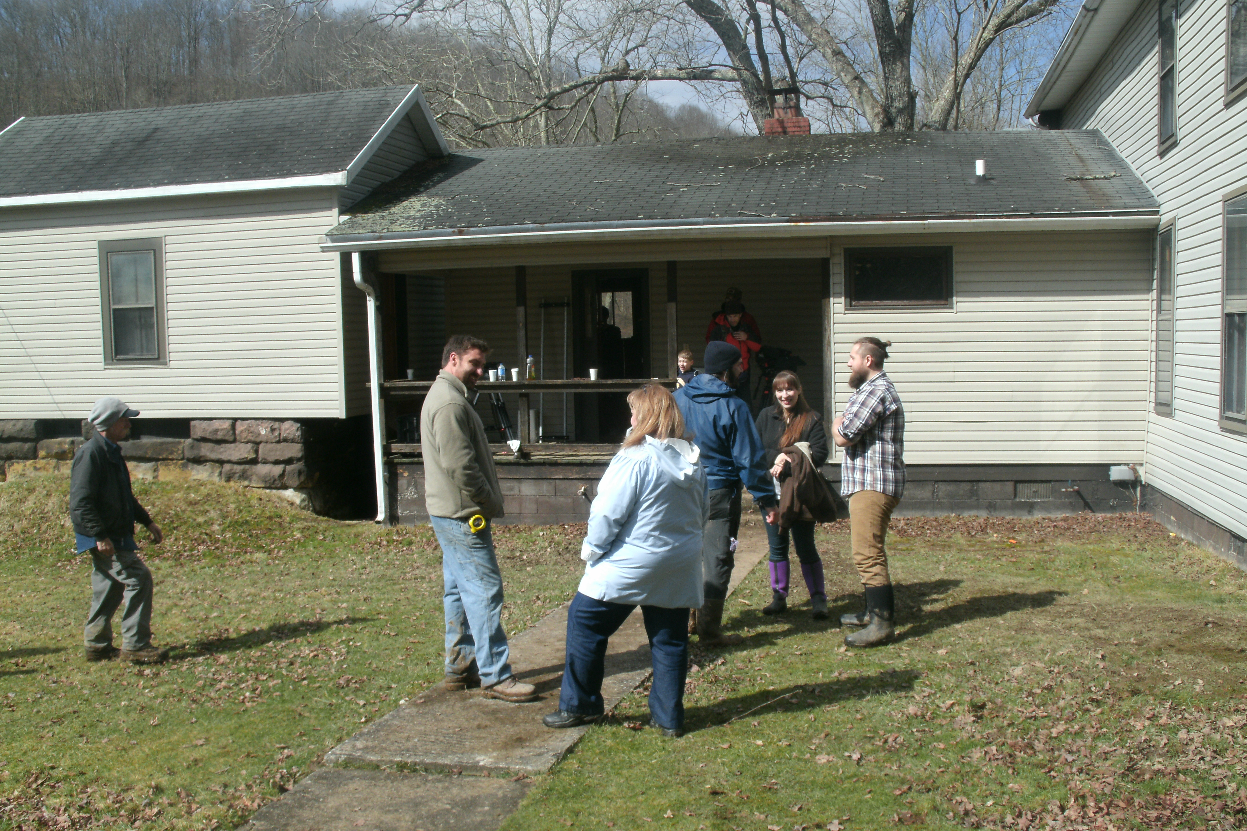 Mark bowe west virginia mountain mama for Home builders in west virginia