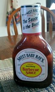 Sweet Baby Rays BB-Q sauce