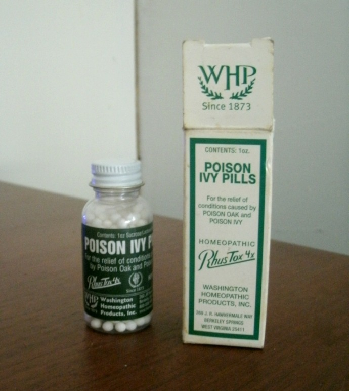 poison ivy pills and homeopathic way to control an outbreak