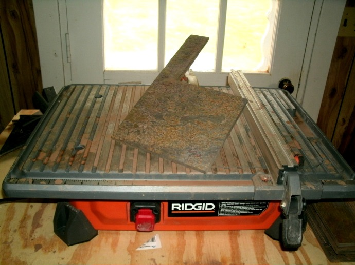 Used tile saw