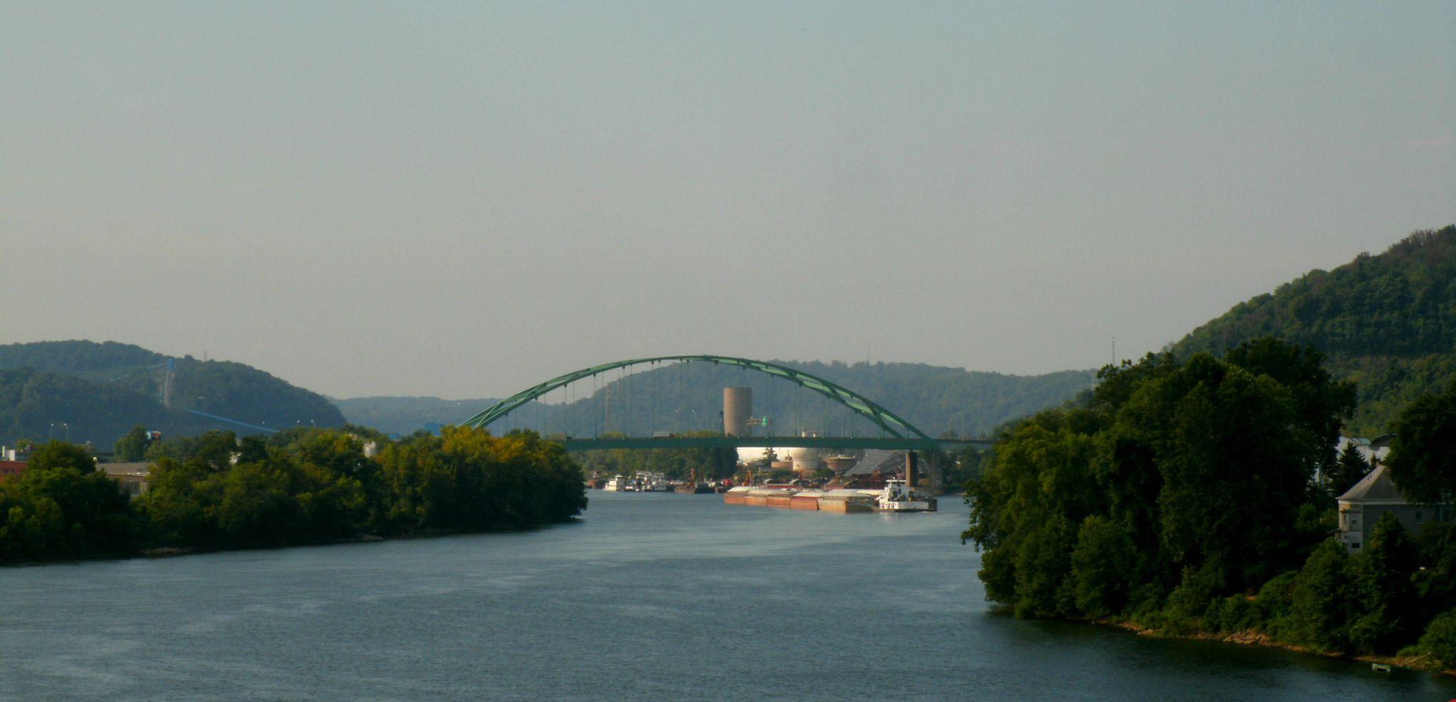 For My Love Of Bridges Wheeling Island And Walkersville Covered Bridge West Virginia Mountain