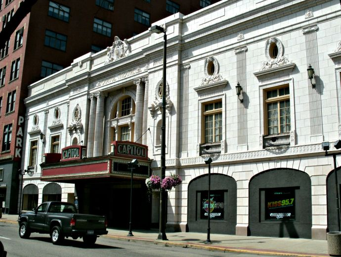Front of Capitol Theatre, Wheeling West Virginia