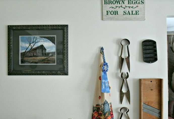 Photo of my barn portrait gift from Mark Bowe