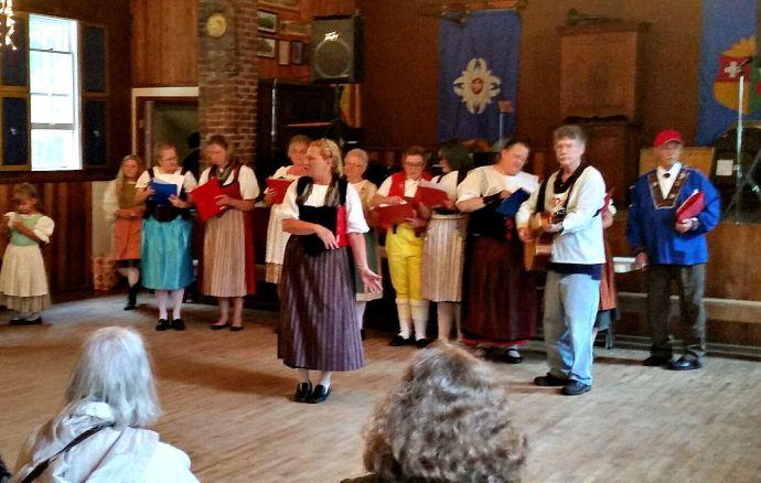 Swiss community singers