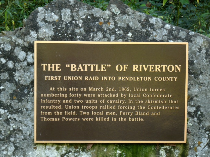 Inscription on the Battle of Riverton stone
