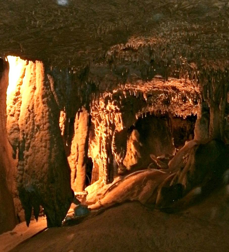 Deep Under Ground, Seneca Caverns Pendelton, WV (6/6)
