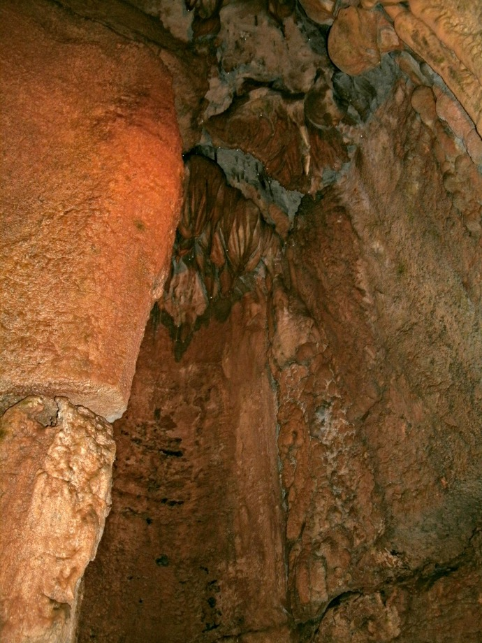 Hell's Kitchens Chimney Formation, Seneca Cavern, WV