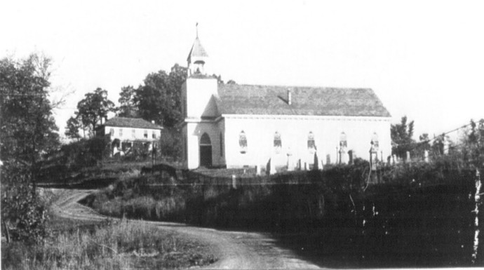 St Bernard and Rectory 1938