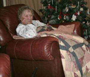 Wanda Gay Powers At Christmas 2012