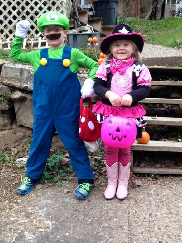 Christopher and Paige Halloween 2015