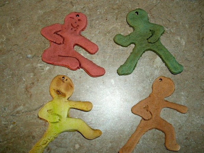Salt dough ninja