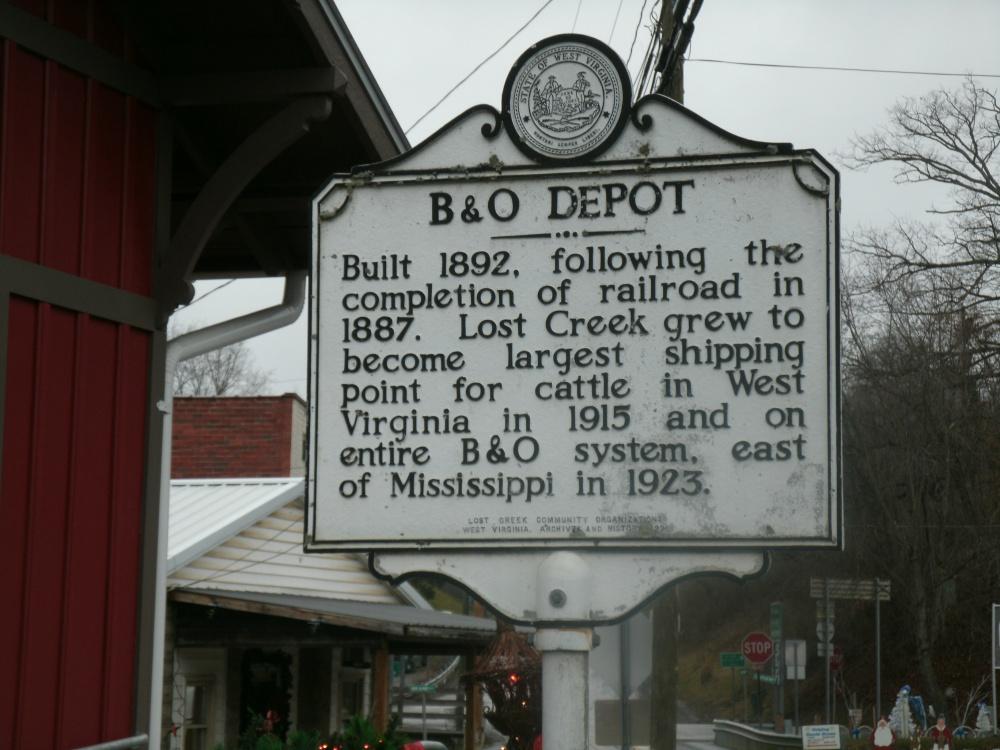 The Lost Creek, West Virginia Depot Restoration is Complete 2015 (2/5)