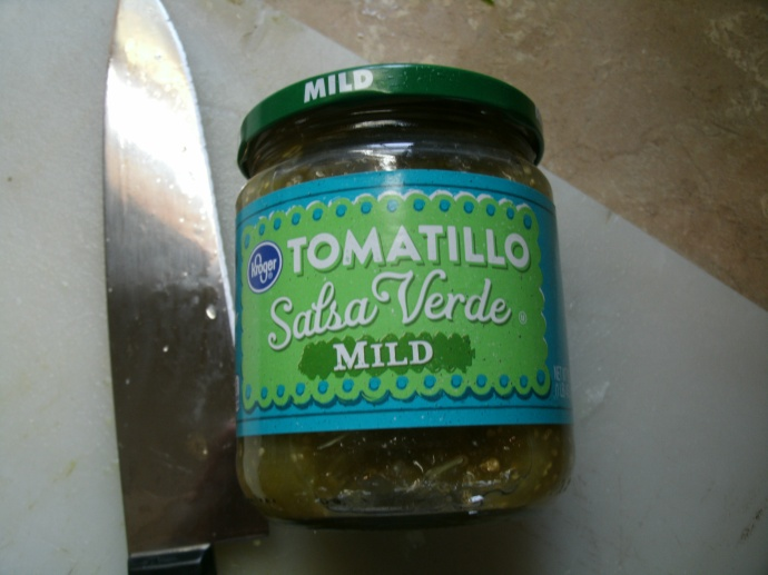 What I used instead of fresh Tomatillos