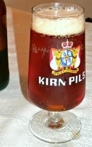 German beer glass Circa 1987 Happy Beer New Year 2016