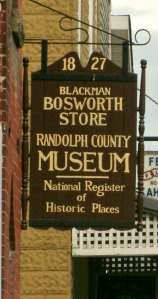 Bosworth Store/ Museum across street from Beverly Heritage Center, Beverly WV