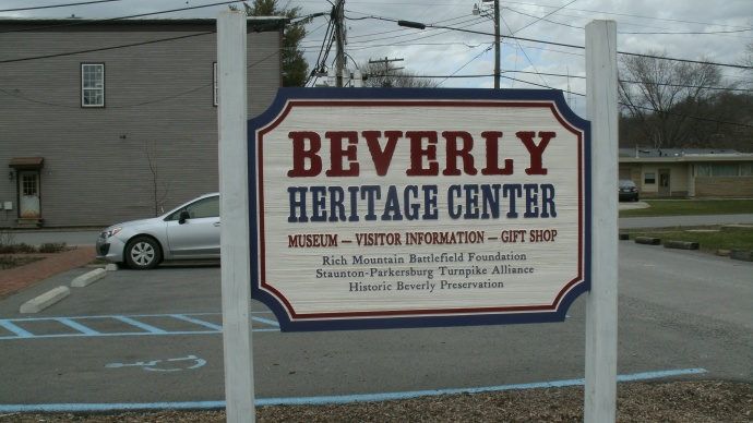 Beverly Heritage Center Sign