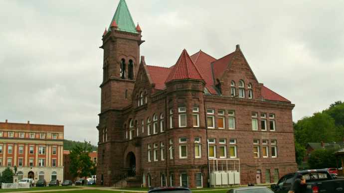 Barbour County Courthouse, Philippi, West Virginia built 1903