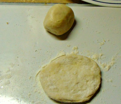 dinner-roll-flattened-for-pies
