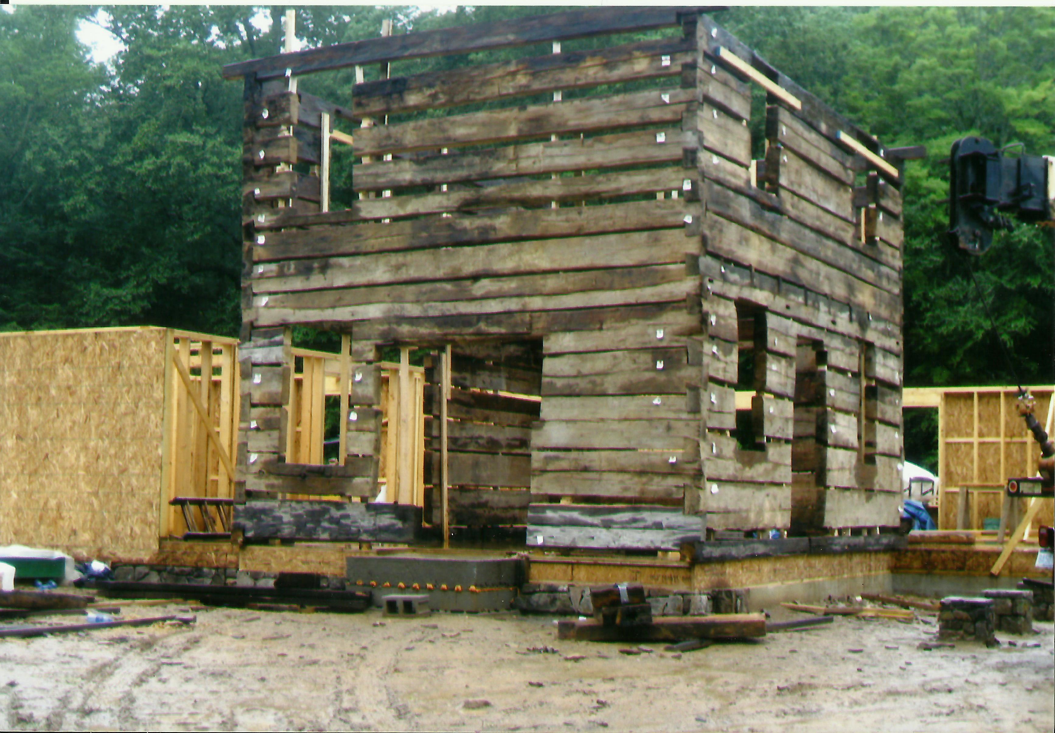 log-cabin-set-up-on-new-foundation