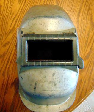 old welding Hood