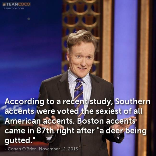 southern accent is sexy