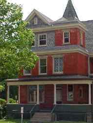 Darden House the location of my office in Downtown Elkins