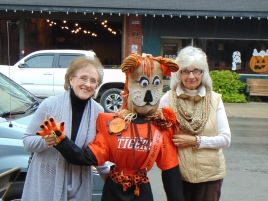 photo of volunteers for the Elkins Main Street Scarecrow Festival 2017