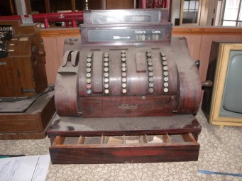 Early electric cash register