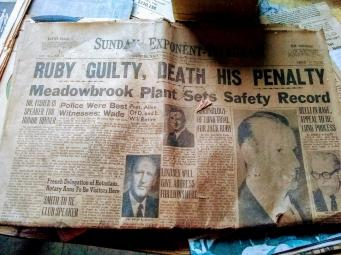 head line about about Jack Ruby